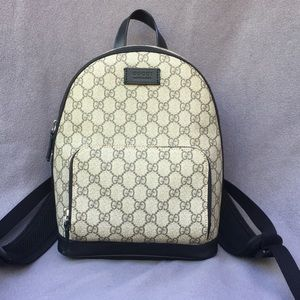 Gucci leather backpack